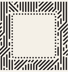 Dots square frame vector