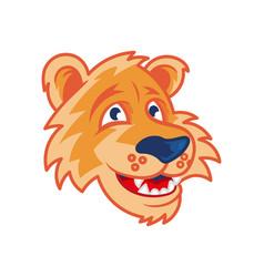 Face tiger vector
