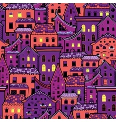 Houses new pattern 5 vector