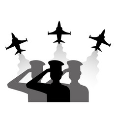 People armed forces design vector