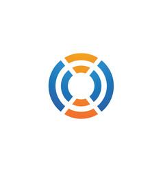 Wireless logo template vcetor vector