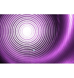 abstract pink spiral vector image