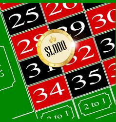 Placing a bet vector