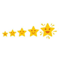 Positive feedback concept vector image