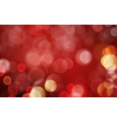 Dark red blurry light dot background vector image vector image