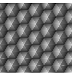 Abstract background with black hexagons vector