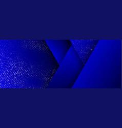 background gold glitter halftone on geometric vector image