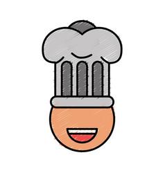 Chef hat design vector