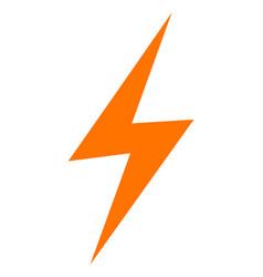 Electric spark - icon vector