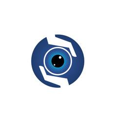 Eye care solution vector