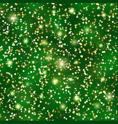 glitter seamless pattern golden confetti texture vector image