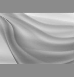 Gray wave abstract background vector