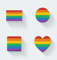 Rainbow Flags vector