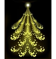 Abstract Christmas tree EPS10 vector image vector image