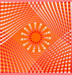 orange abstract background tile with overlapping vector image