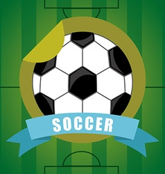 sport emblem vector image vector image