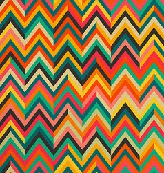 Abstract color vintage retro seamless pattern vector image vector image