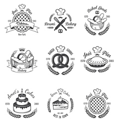 Bakery 1 vector image vector image