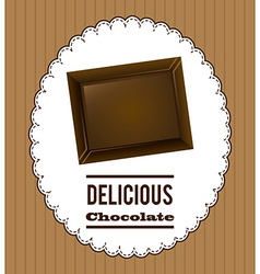 chocolate design vector image