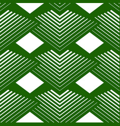 Geometrical seamless pattern pyramids line vector