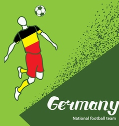 Germany 4 vector image