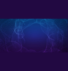 Infinite cyber space background vector