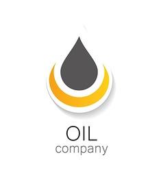 oil company vector image