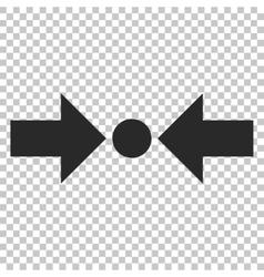 Pressure Horizontal Icon vector image
