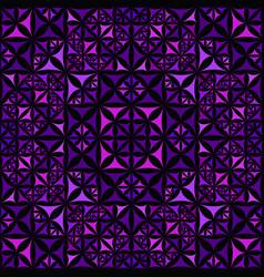 Purple seamless kaleidoscope pattern background vector