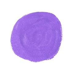 Lilac acrylic paint circle vector image vector image