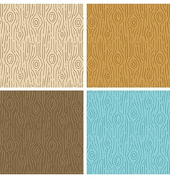 wooden seamless patterns vector image vector image