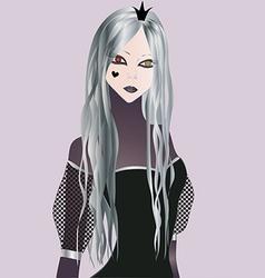 Dark Princess vector image