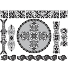 traditional celtic style vector image vector image
