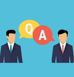 Consulting business advise businessman and vector