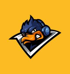 Duck gaming vector