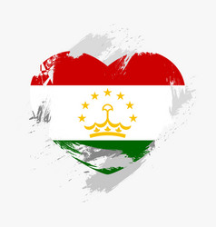 Flag of tajikistan vector