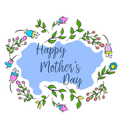 happy mother day collection design vector image vector image