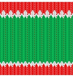 knitted background vector image vector image