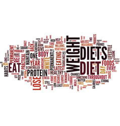 The most practical diet you ever try text vector