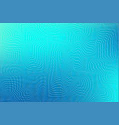Abstract background with lines and dots distorted vector
