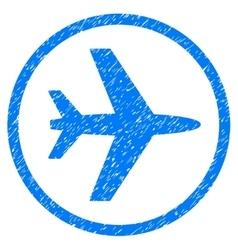 Airport Grainy Texture Icon vector