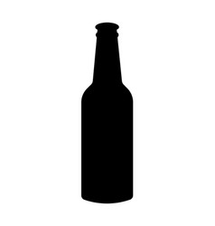 alcohol icon product for beer and food bottle vector image