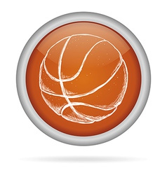 basketball sport vector image