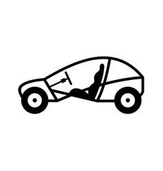 Dune buggy beach recreational motor vehicle vector