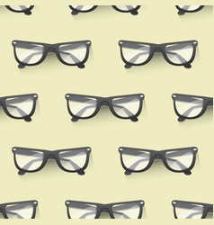 Fashion sunglasses accessory seamless pattern vector
