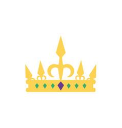 Isolated queen crown design vector