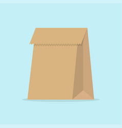 paper bag vector image