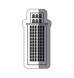 city buildings icon image vector image
