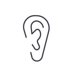 e-bookonline reading line icon sign vector image