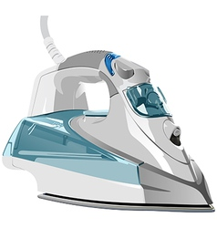 Electric iron vector image